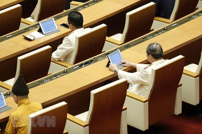 Lãnh đạo Đảng, Nhà nước dự phiên khai mạc kỳ họp Quốc hội ảnh 16