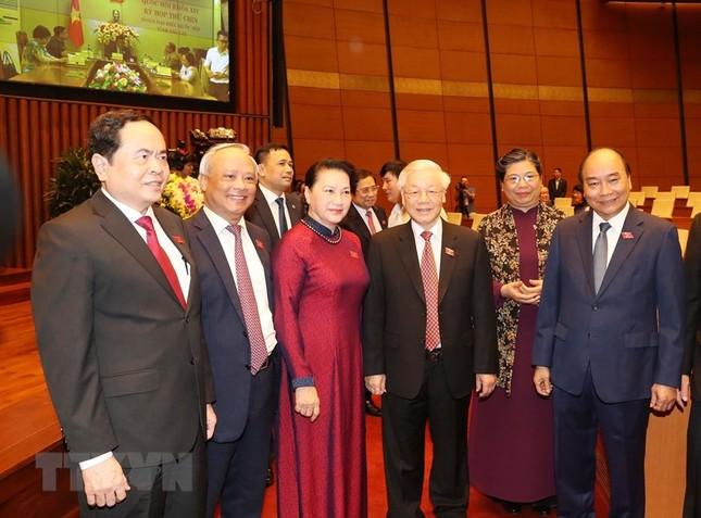 Lãnh đạo Đảng, Nhà nước dự phiên khai mạc kỳ họp Quốc hội ảnh 1