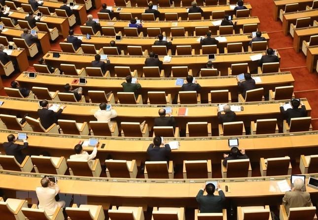 Lãnh đạo Đảng, Nhà nước dự phiên khai mạc kỳ họp Quốc hội ảnh 18