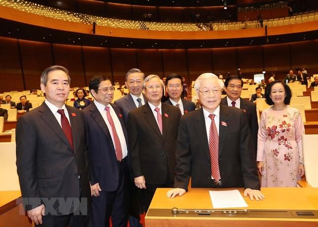 Lãnh đạo Đảng, Nhà nước dự phiên khai mạc kỳ họp Quốc hội ảnh 3