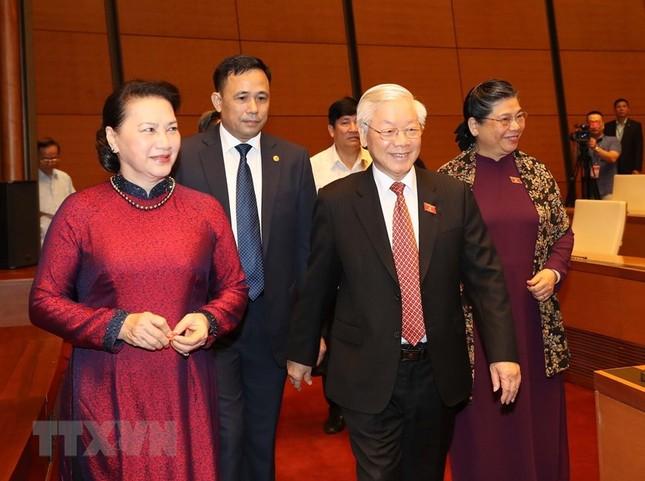 Lãnh đạo Đảng, Nhà nước dự phiên khai mạc kỳ họp Quốc hội ảnh 4