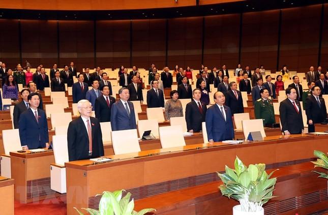 Lãnh đạo Đảng, Nhà nước dự phiên khai mạc kỳ họp Quốc hội ảnh 6