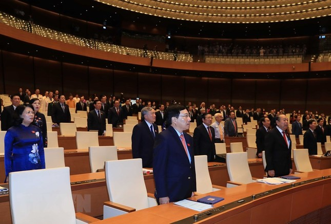 Lãnh đạo Đảng, Nhà nước dự phiên khai mạc kỳ họp Quốc hội ảnh 7
