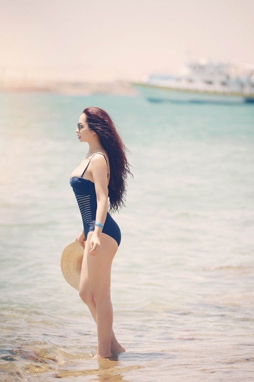 Ảnh bikini hiếm của cựu siêu mẫu Thúy Hằng sau 5 năm 'không dám' diện đồ hở ảnh 5