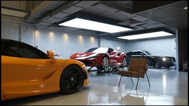 Lóa mắt với bộ sưu tập siêu xe của Cường Đô la ảnh 5