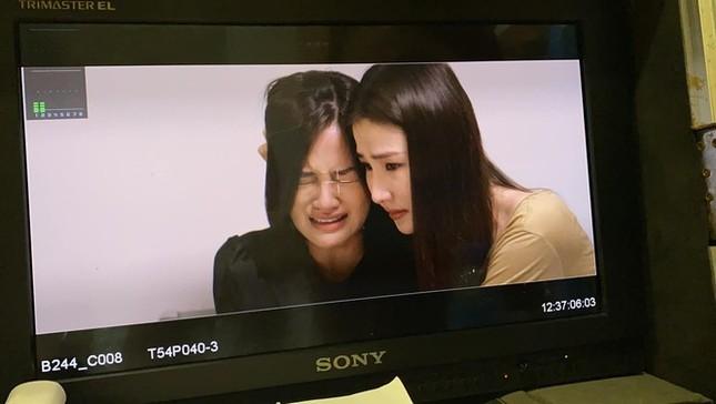 Thuỳ Anh chia sẻ sau tập phim Ánh bị hãm hiếp, Phan Linh nức nở trải lòng với em gái ảnh 3