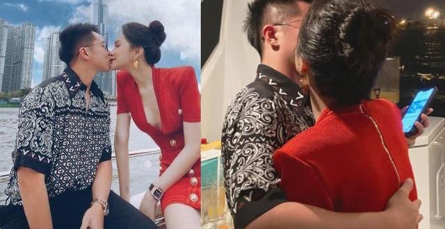 Fan 'đảo điên' trước loạt ảnh khóa môi 'ngọt lịm' của Hương Giang - Matt Liu ảnh 1