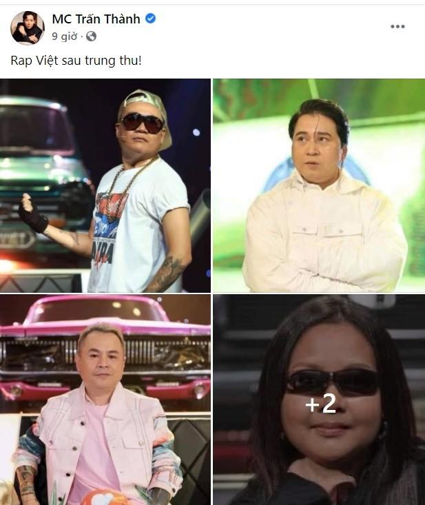 Cười 'rơi hàm' trước ảnh phát phì của dàn HLV Rap Việt, 'hốt hoảng' nhất là MC Trấn Thành ảnh 1