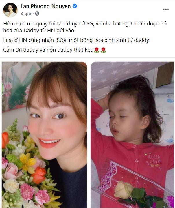 Sau ồn ào tình cảm, Bùi Tiến Dũng hôn vợ 'ngọt lịm' trong ngày sinh nhật con gái ảnh 2