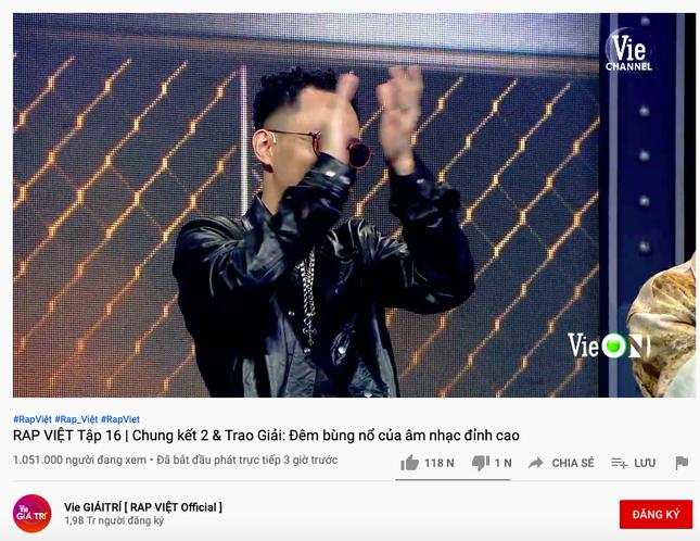 Thực hư câu chuyện Rap Việt lập kỉ lục người xem cao nhất thế giới? ảnh 2