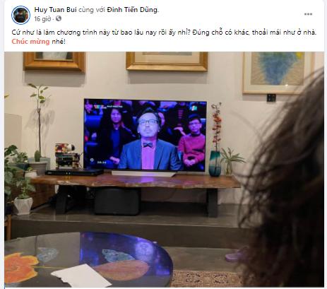MC Long Vũ và nhiều sao dành 'mưa' lời khen cho giáo sư Xoay dẫn 'Ai là triệu phú' ảnh 3