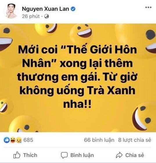 Loạt sao Việt bắt trend 'trà xanh' đầy ẩn ý ảnh 2