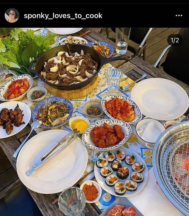 Dân mạng ngất ngây ngắm kênh đồ ăn 'thượng hạng' của Tăng Thanh Hà ảnh 6