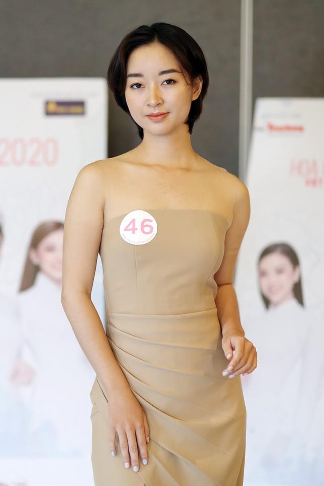 Thạc sĩ tài chính thích vẽ và kick boxing thi Hoa hậu Việt Nam 2020 ảnh 3