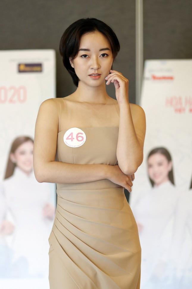 Thạc sĩ tài chính thích vẽ và kick boxing thi Hoa hậu Việt Nam 2020 ảnh 2
