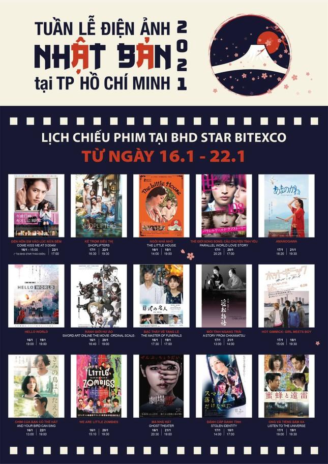 Tuần lễ Điện ảnh Nhật Bản 2021 tại TPHCM ảnh 2