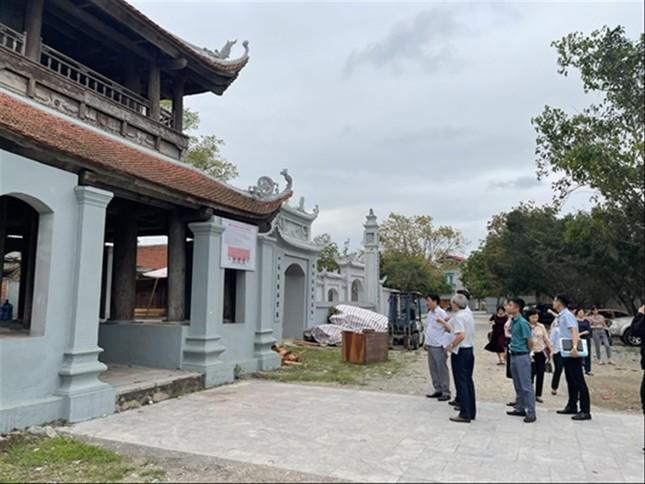 Di tích quốc gia chùa Đậu bị xâm hại: Thanh tra Bộ làm rõ sai phạm ảnh 1