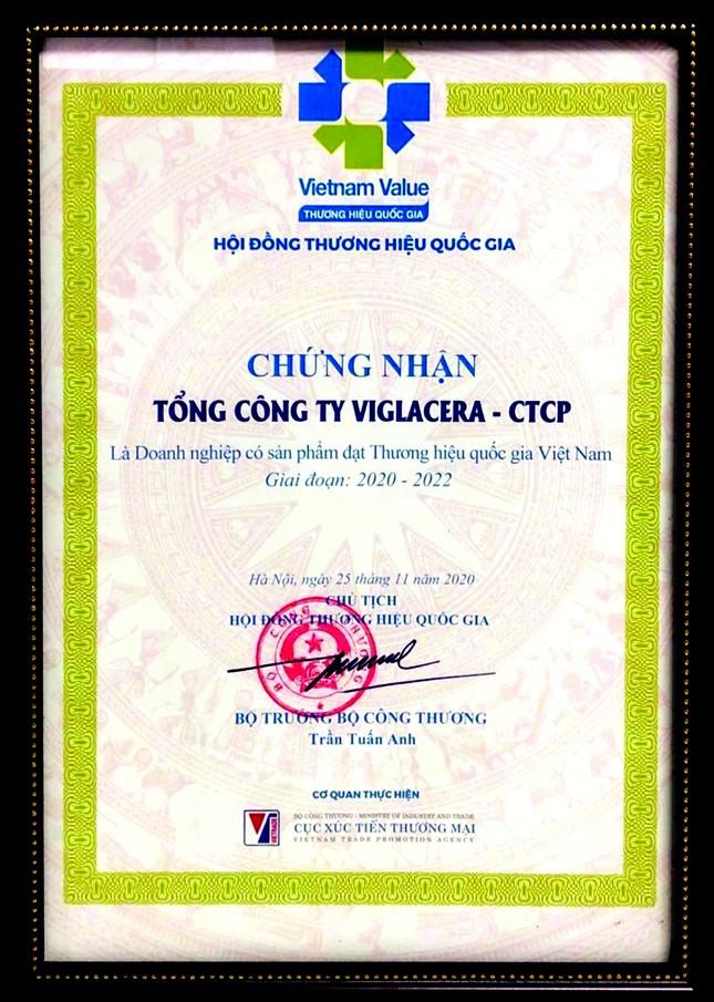 Viglacera – Tự hào là Thương hiệu quốc gia Việt Nam ảnh 1