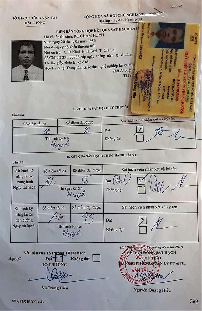 Người dân Gia Lai ra Hải Phòng thi bằng lái: Mù chữ vẫn được 'bao' đậu ảnh 2