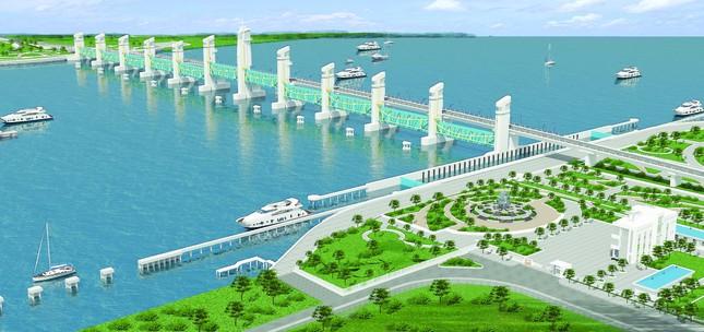 Điều kỳ diệu từ dự án thủy lợi lớn nhất Đồng bằng sông Cửu Long ảnh 1