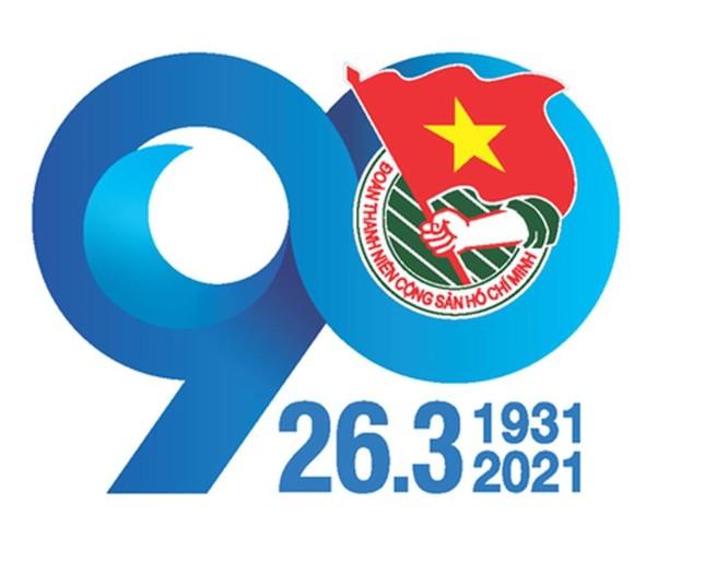 Logo tuyên truyền kỷ niệm 90 năm thành lập Đoàn ảnh 1