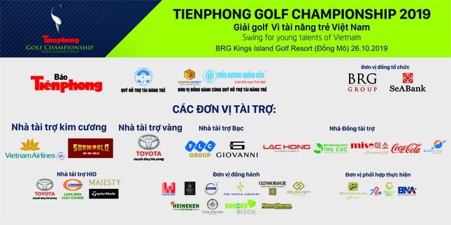 Tiền Phong Golf Championship 2019: Chung tay vì tài năng trẻ Việt Nam ảnh 1