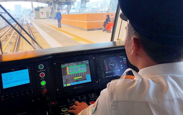 Tàu Cát Linh - Hà Đông: Vận hành thử toàn hệ thống đạt gần 100% biểu đồ ảnh 2