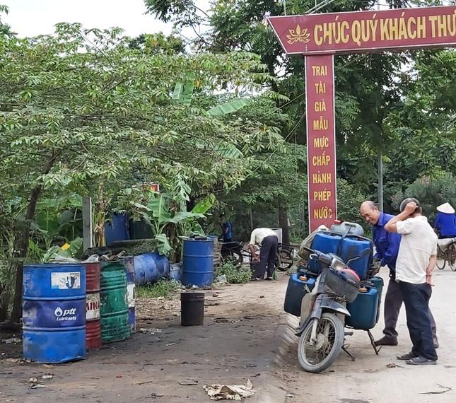 Cận cảnh làng thu gom dầu nhớt thải lớn nhất miền Bắc ảnh 3
