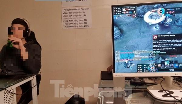Nhiều quán game vẫn sôi động sau lệnh cấm của Chủ tịch Hà Nội ảnh 7