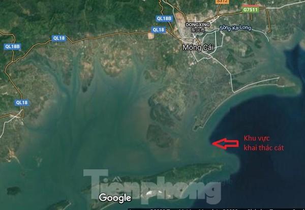 Dân phản đối đại dự án khai thác cát biển vùng biên: Tỉnh Quảng Ninh nói gì? ảnh 3