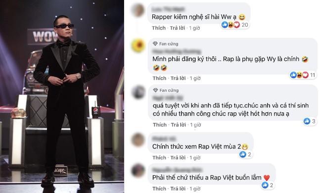Khán giả buồn, vui lẫn lộn khi Suboi vắng mặt, Wowy tiếp tục tham gia 'Rap Việt mùa 2' ảnh 2