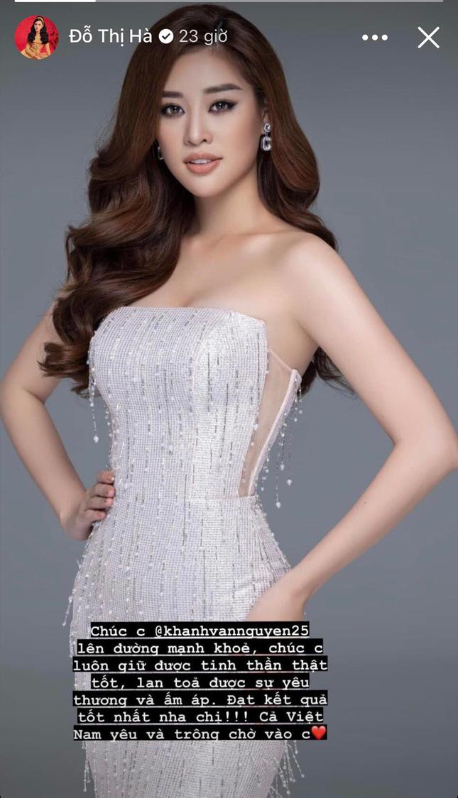 Hoa hậu Đỗ Thị Hà nhắn nhủ Khánh Vân khi sang Mỹ thi Miss Universe ảnh 2