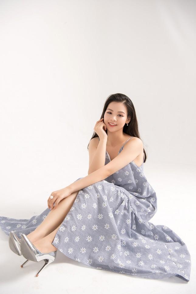 Nữ sinh trường kinh tế và hành trình giảm gần 20kg để dự thi Hoa hậu Việt Nam 2020 ảnh 2