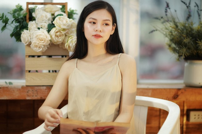 Nữ sinh trường kinh tế và hành trình giảm gần 20kg để dự thi Hoa hậu Việt Nam 2020 ảnh 1