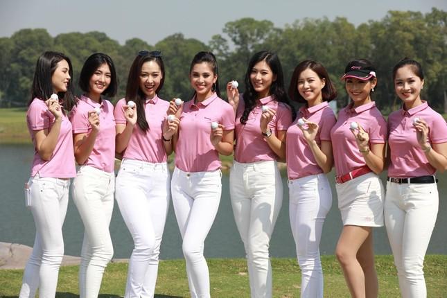Dàn hoa hậu Việt nô nức 'nhập hội' chơi golf ảnh 5
