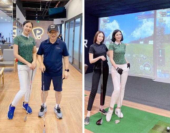 Dàn hoa hậu Việt nô nức 'nhập hội' chơi golf ảnh 1