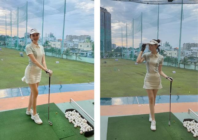 Dàn hoa hậu Việt nô nức 'nhập hội' chơi golf ảnh 8