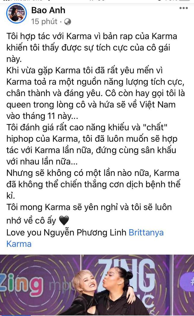 Nữ vlogger gốc Việt Brittanya Karma qua đời vì COVID-19 ảnh 3