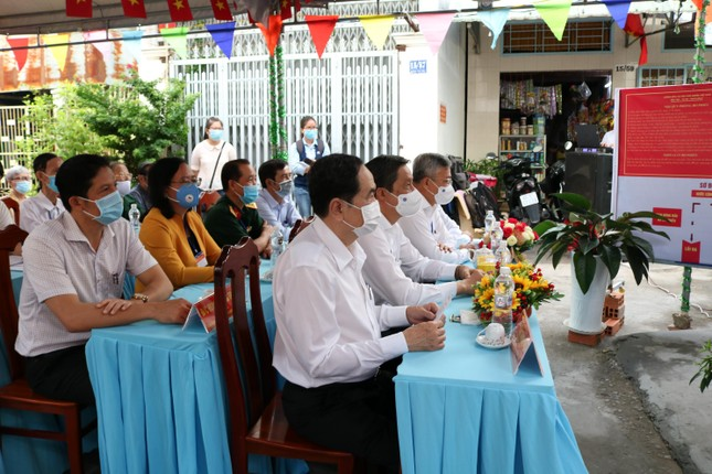 Phó Chủ tịch Thường trực Quốc hội Trần Thanh Mẫn bỏ phiếu tại Cần Thơ ảnh 1