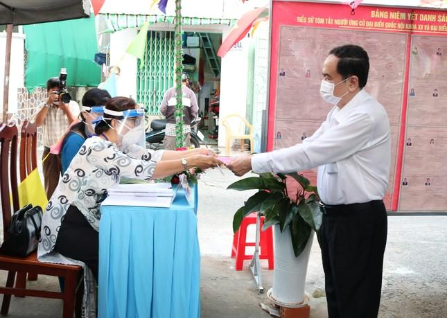 Phó Chủ tịch Thường trực Quốc hội Trần Thanh Mẫn bỏ phiếu tại Cần Thơ ảnh 3