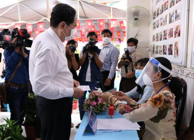 Phó Chủ tịch Thường trực Quốc hội Trần Thanh Mẫn bỏ phiếu tại Cần Thơ ảnh 5
