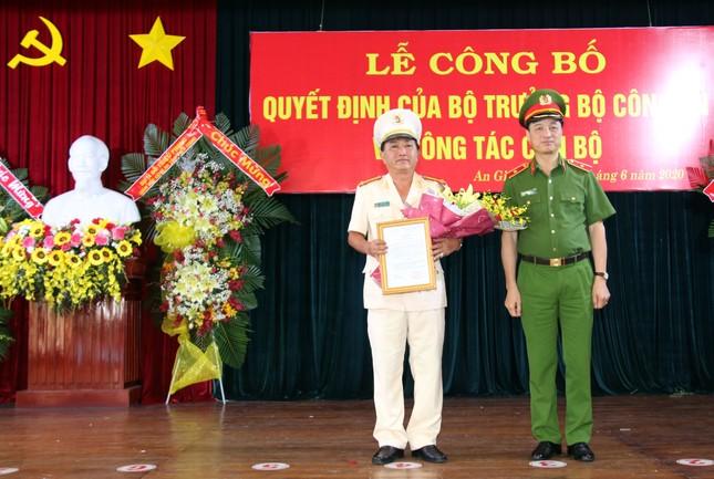Bổ nhiệm Giám đốc Công an tỉnh An Giang ảnh 2