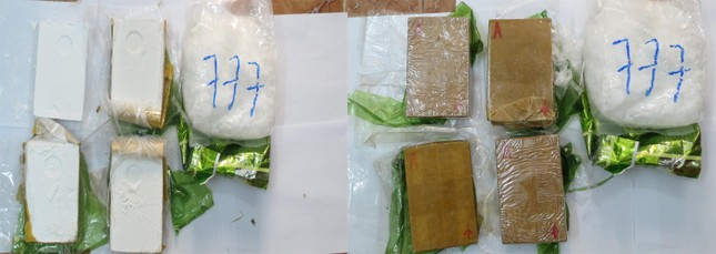 Nhận tiền công 30 triệu để trốn qua Campuchia đem 6 bánh heroin về Việt Nam ảnh 2