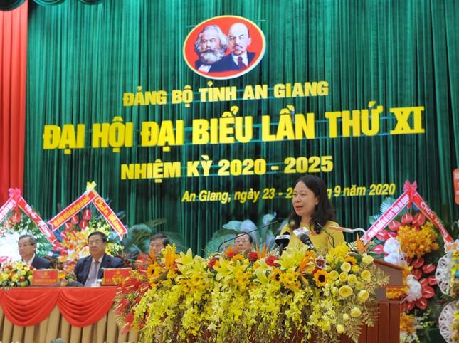 Bà Võ Thị Ánh Xuân tái cử Bí thư Tỉnh ủy An Giang ảnh 1