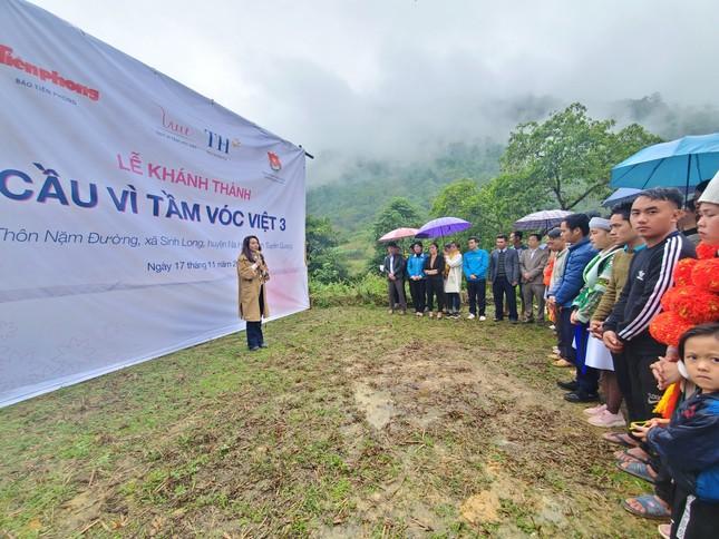 Khánh thành cầu 'Vì tầm vóc Việt': Cầu đẹp, cách làm độc đáo ảnh 6