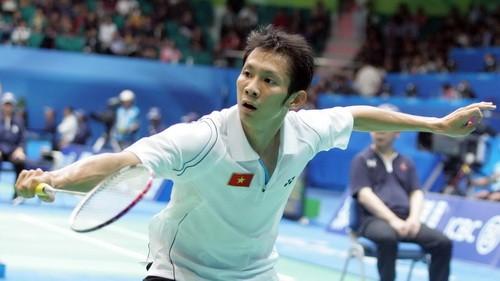 tay vợt Nguyễn Tiến Minh