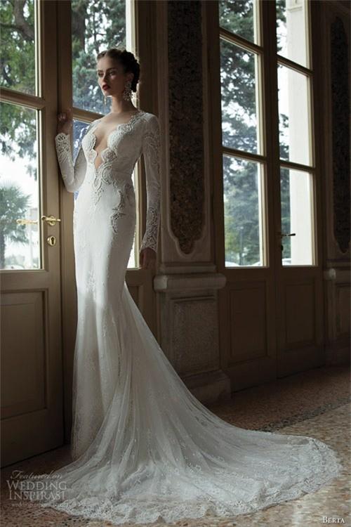 Váy cưới dành riêng cho cô dâu nóng bỏng ảnh 4