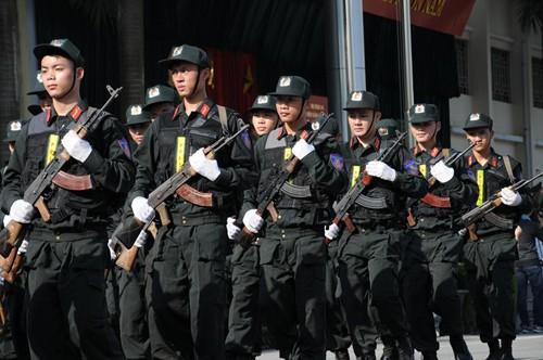 Cảnh sát dự bị đặc nhiệm luyện võ, chống khủng bố ảnh 6