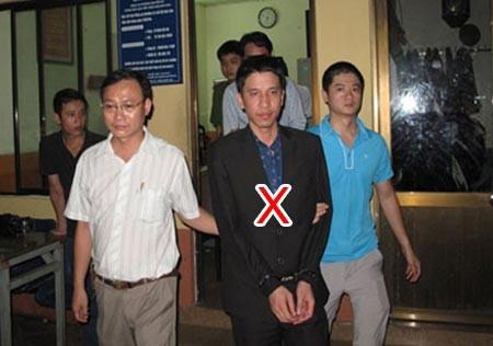 Dẫn giải Nguyễn Mạnh Hà (X). Ảnh: CAND