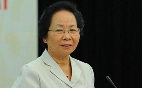 Phó Chủ tịch nước Nguyễn Thị Doan